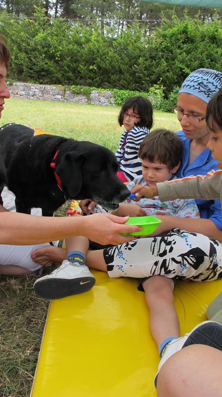 çocuklarda hayvan sevgisi